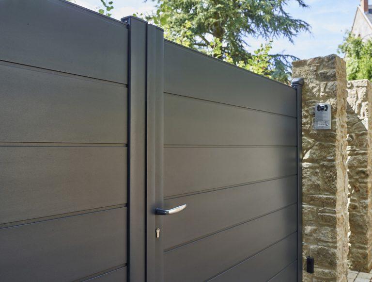 Portail aluminium SIB