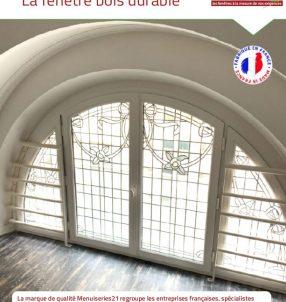 La fenêtre bois durable.