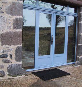 Porte Mixe (bois/aluminium)
